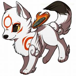 Wolf clipart chibi - Pencil and in color wolf clipart chibi