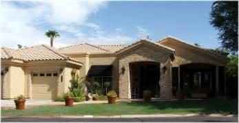 one level homes arizona waterfront homes wellington estates