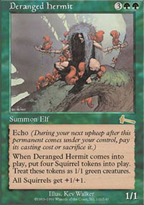 Infinite Squirrel Deck Mtg by Squirrel Nest Conspiracy Magic The Gathering