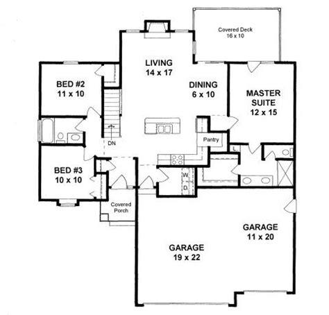 plan   sq ft house plan   car garage