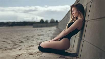 Curvy Beach Blonde Wallhere Wallpapers