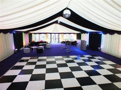 Black And White Chequer   Chairman Hire