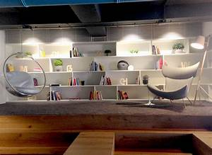 modern-office-library Interior Design Ideas
