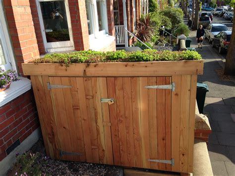 garden bike sheds storage classic bike shed with sedum roof bike shed in 2019