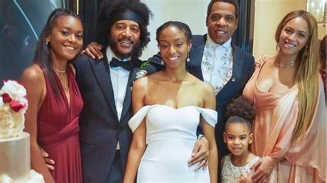 Beyonce Stuns While Blue Ivy Wears k Dress To Wedding