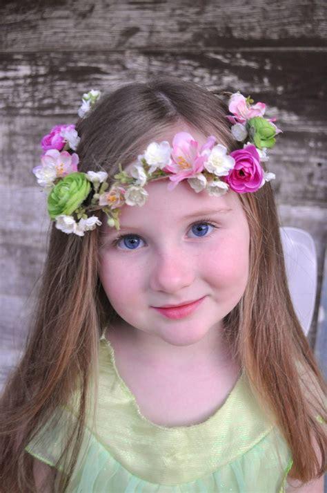 diy flower crown  life lovely