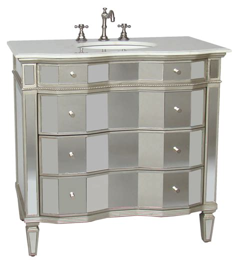 bathroom vanity mirror cabinet 36 inch jamie vanity mirrored sink chest mirrored sink