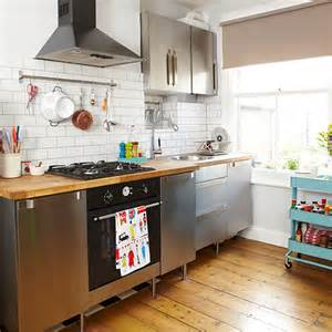small kitchen ideas uk kitchen with freestanding units and trolley small kitchen design ideas decorating