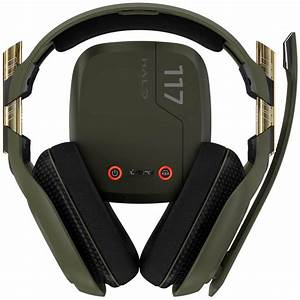 ASTRO A50 Wireless Headset Bundle Halo Edition Black