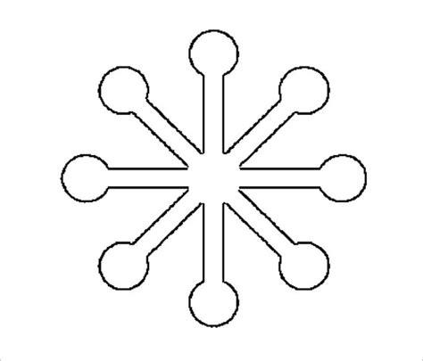snowflake cutout template 17 snowflake stencil template free printable word pdf jpeg format free