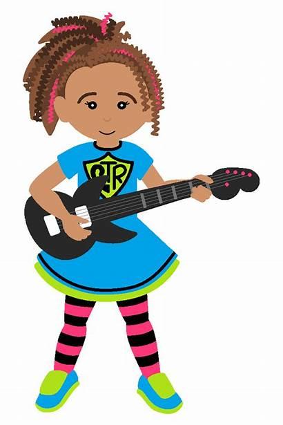 Rock Star Clip Clipart Sing Clipartfest Guitar