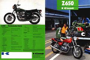 Kawasaki Z650 Kz650 Colour Wiring Loom Diagrams