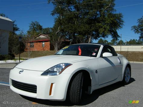white nissan 350z modified image gallery 2005 350z white