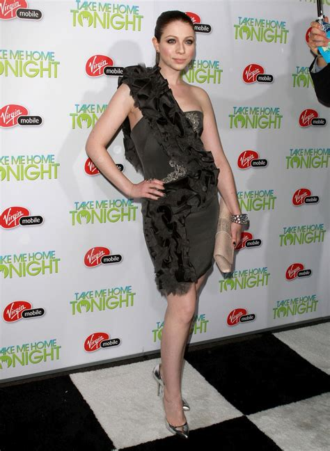 Michelle Trachtenberg At Take Me Home Tonight Premier
