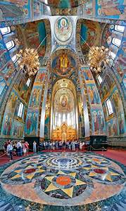 Inside The Church Of The Savior On Spilled Blood By Crh On