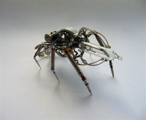 mechanical insects and arthropods robotspacebrain