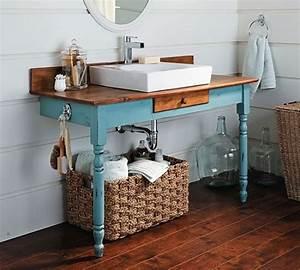 Waschbecken Auf Tisch : die 25 besten ideen zu waschtisch auf pinterest ensuite ~ Michelbontemps.com Haus und Dekorationen
