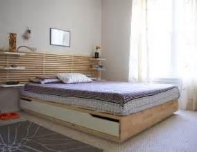 lit avec coffre de rangement integre ikea