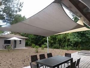 Voile Pour Terrasse : terrasse voile ombrage terrasse accueil design et mobilier ~ Premium-room.com Idées de Décoration