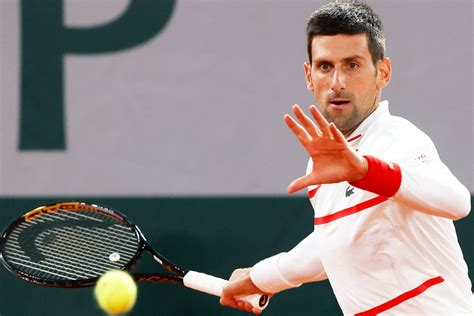 French Open 2020 Men's Singles Semi-Final Novak Djokovic ...