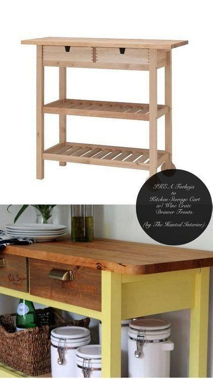 ikea kitchen cart forhoja 8 ikea hacks we re crazy about restaurant kitchen hacks and the hunted