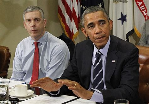 Cabinet Member Duncan by Education Arne Duncan Is Stepping As Obama