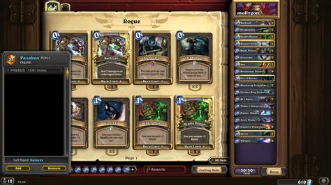 Malygos Rogue Deck Hearthstone by Eu Top100 Malygos Rogue Hearthstone Decks
