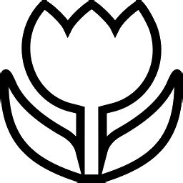 tulip clipart black and white clipart tulip outline clipart panda free clipart images