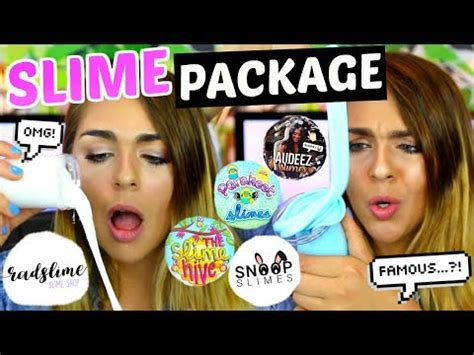 [news] Slime Package Unboxing From Famous Etsy Slime Shops