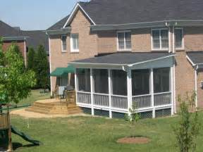 Charlotte Huntersville Screen Porch Sunroom Room How to Choose the Floor for a Sun Porch