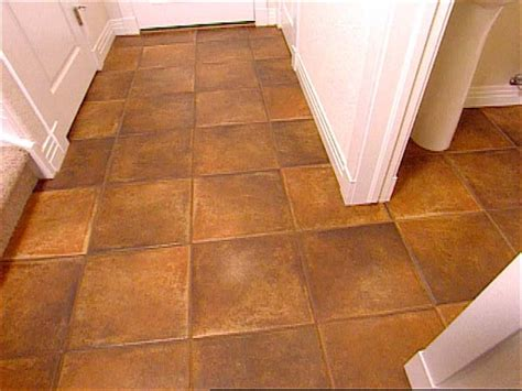 installing floor tile how to install tile flooring hgtv