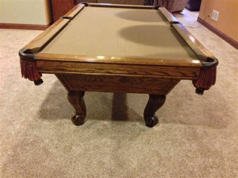 pool table movers charlotte nc world of leisure pool table 8 39 sold used pool tables