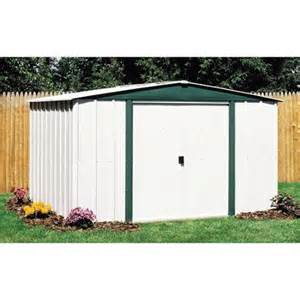 arrow hamlet 8 x 6 steel storage shed walmart