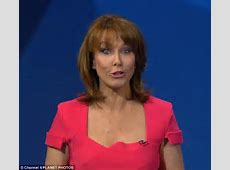 Kay Burley's bra snapped live on air before David Cameron