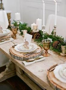 Table De Fete Decoration Noel : table de no l 22 id es de d coration de table de no l 2018 ~ Zukunftsfamilie.com Idées de Décoration