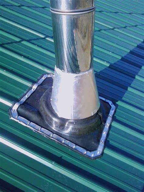 Rubber Boot Metal Roof by Metal Roof Universal Rubber Boot Flashing Kit