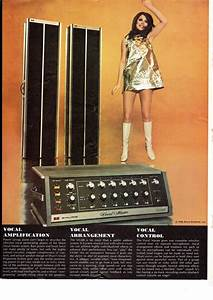 Ad For A Shure Pa System From 1969