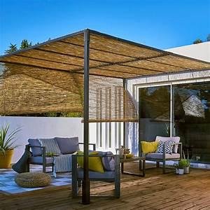 Tonnelle Terrasse : tonnelle de jardin notre s lection marie claire ~ Melissatoandfro.com Idées de Décoration