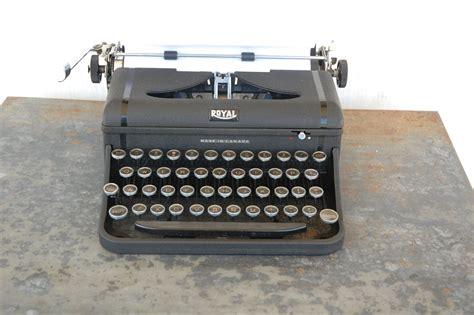 royal typewriter vintage royal typewriter made in canada
