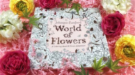 flip  world  flowers coloring book  johanna