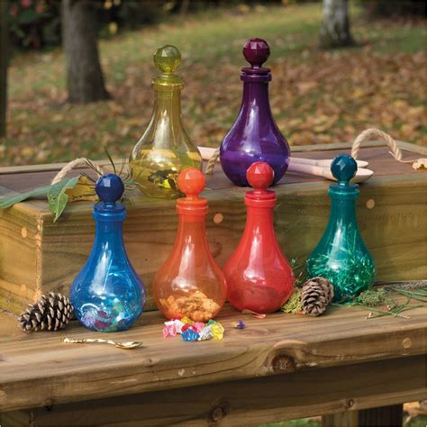 potion bottles fantasy role play physical  social