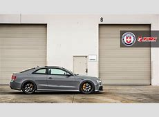 Nardo Gray Audi RS 5 by TAG Motorsports and HRE Wheels