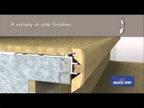 Quick Step Laminate Stair Profile Incizo 5 in 1   YouTube