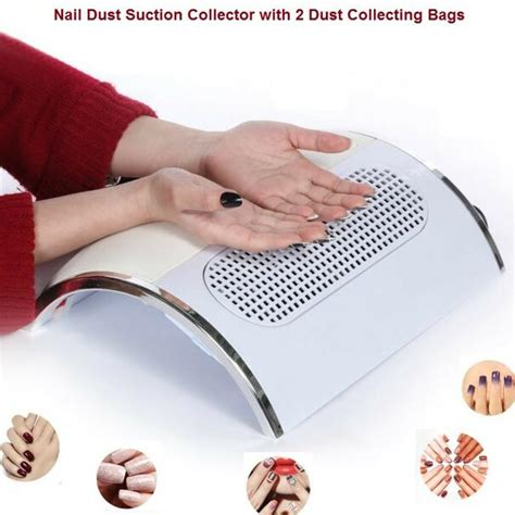 professional nail art dust suction collector manicure