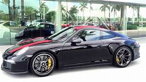 2016 Black Red Stripes Porsche 911R 500 Hp Porsche