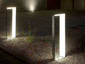 Aluminium bollard light lighting l