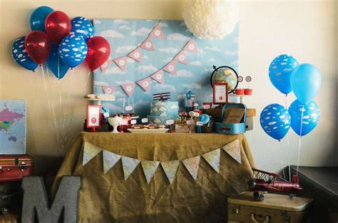 7 Sensational Adventure And Travel Themed Party Ideas