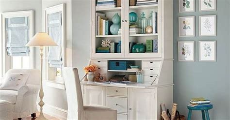 Pottery Barn Graham Large Desk And Hutch