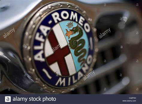 alfa romeo logo stock   alfa romeo logo