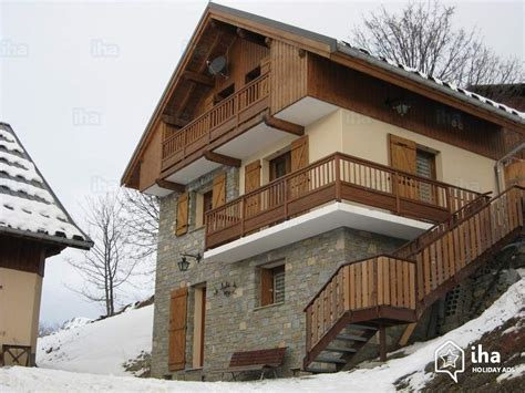 chalet for rent in a hamlet in jean d arves iha 73019